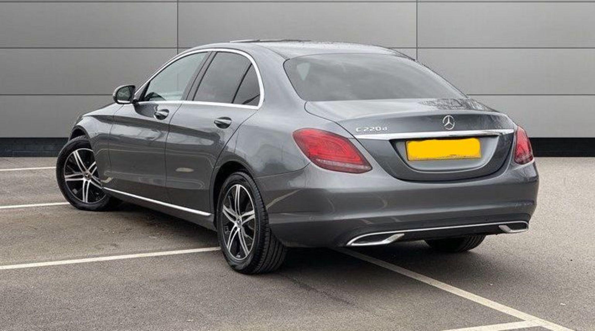 (Reserve Met) Mercedes C220d Sport - 9G Tronic Auto - 188BHP - 2019 Reg - Reversing Cam - Sat Nav - - Image 2 of 7