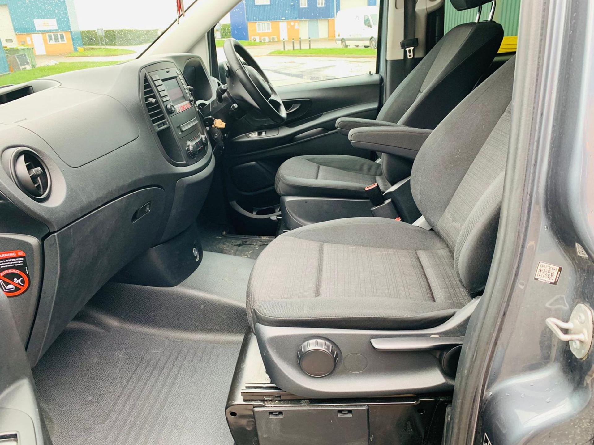 Mercedes Vito 114 Bluetec Dualiner/Crew Van - Auto - Air Con - 2018 18 Reg - 1 Owner From New - Image 12 of 25