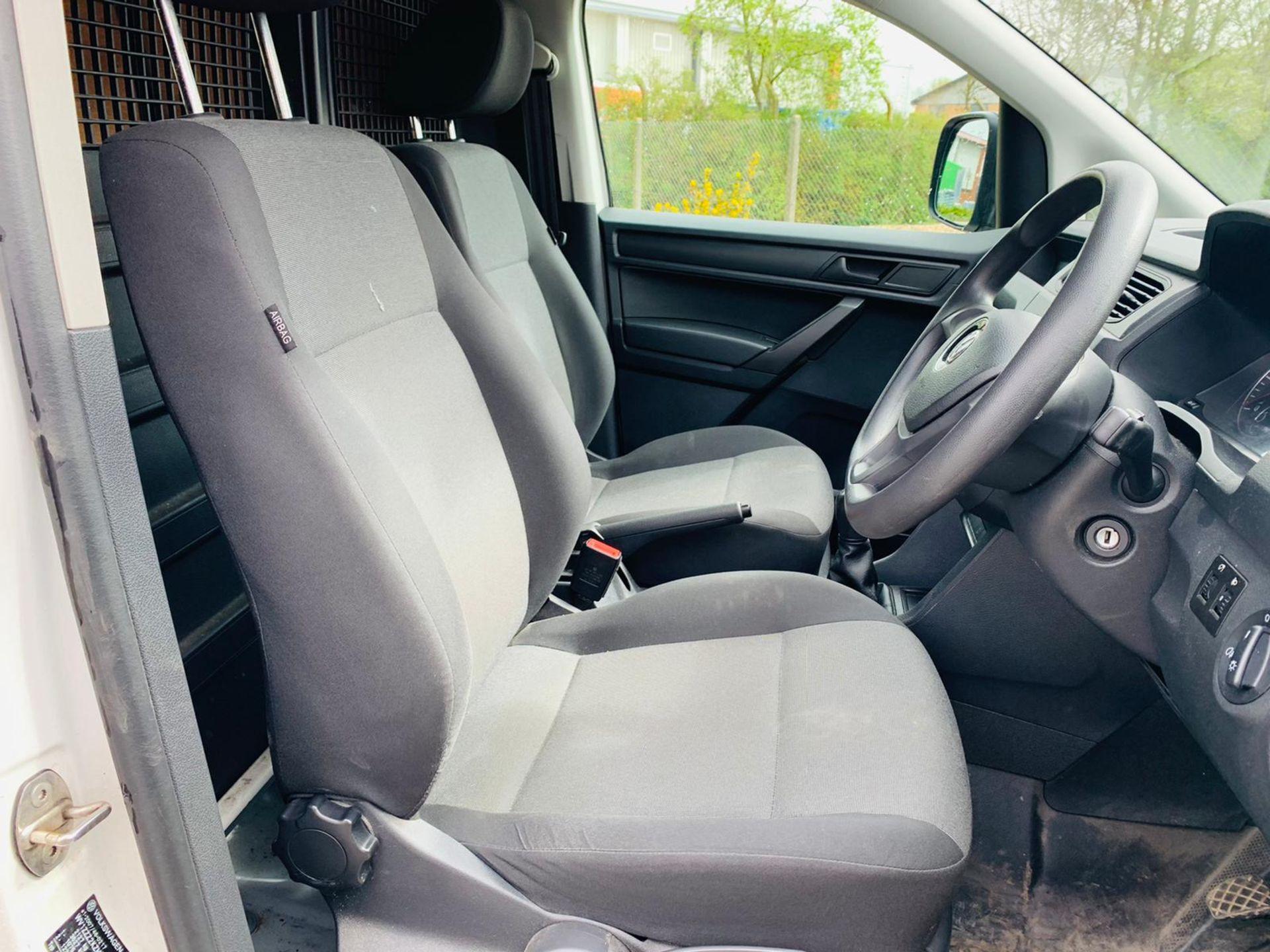 (RESERVE MET)Volkswagen (VW) Caddy 2.0 TDI C20 Startline - 2017 17 Reg - Euro 6 - ULEZ Compliant - - Image 12 of 20