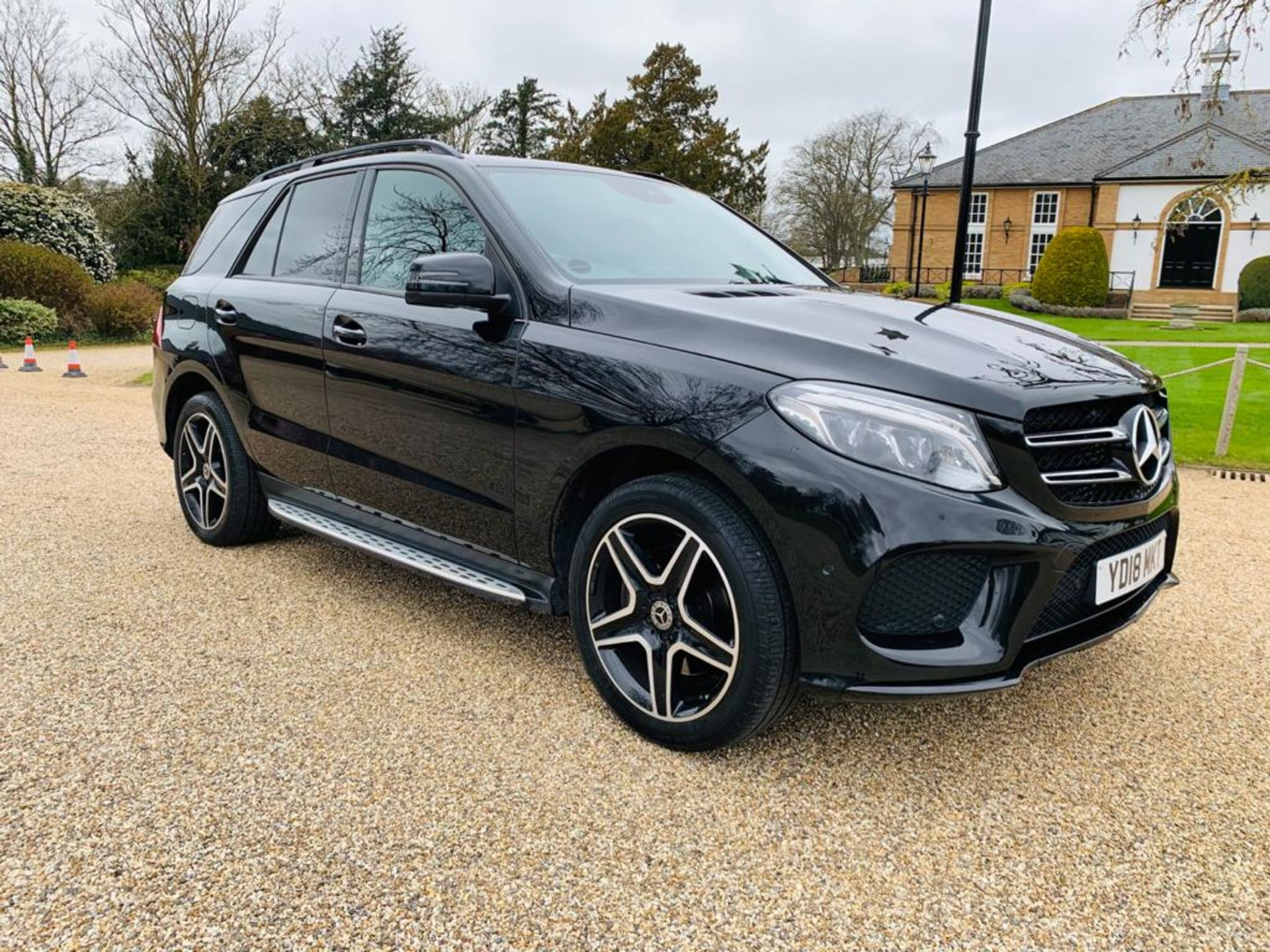 (RESERVE MET) Mercedes GLE 250d 4Matic AMG Night Edition 9G Tronic - 2018 18 Reg - Only 33K Miles - - Image 2 of 36