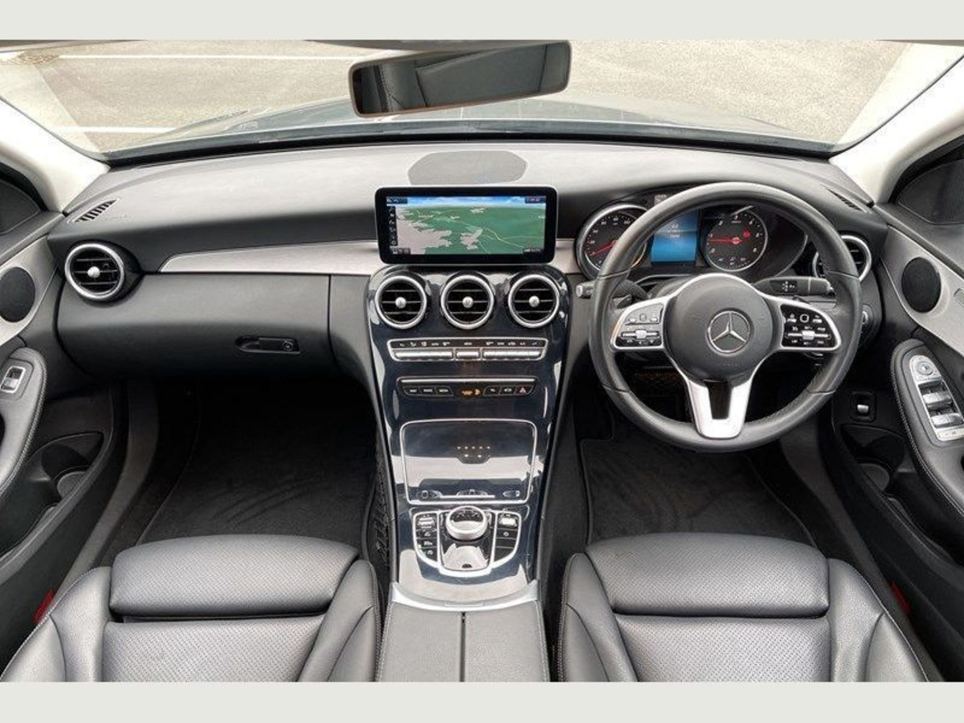 (Reserve Met) Mercedes C220d Sport - 9G Tronic Auto - 188BHP - 2019 Reg - Reversing Cam - Sat Nav - - Image 5 of 7