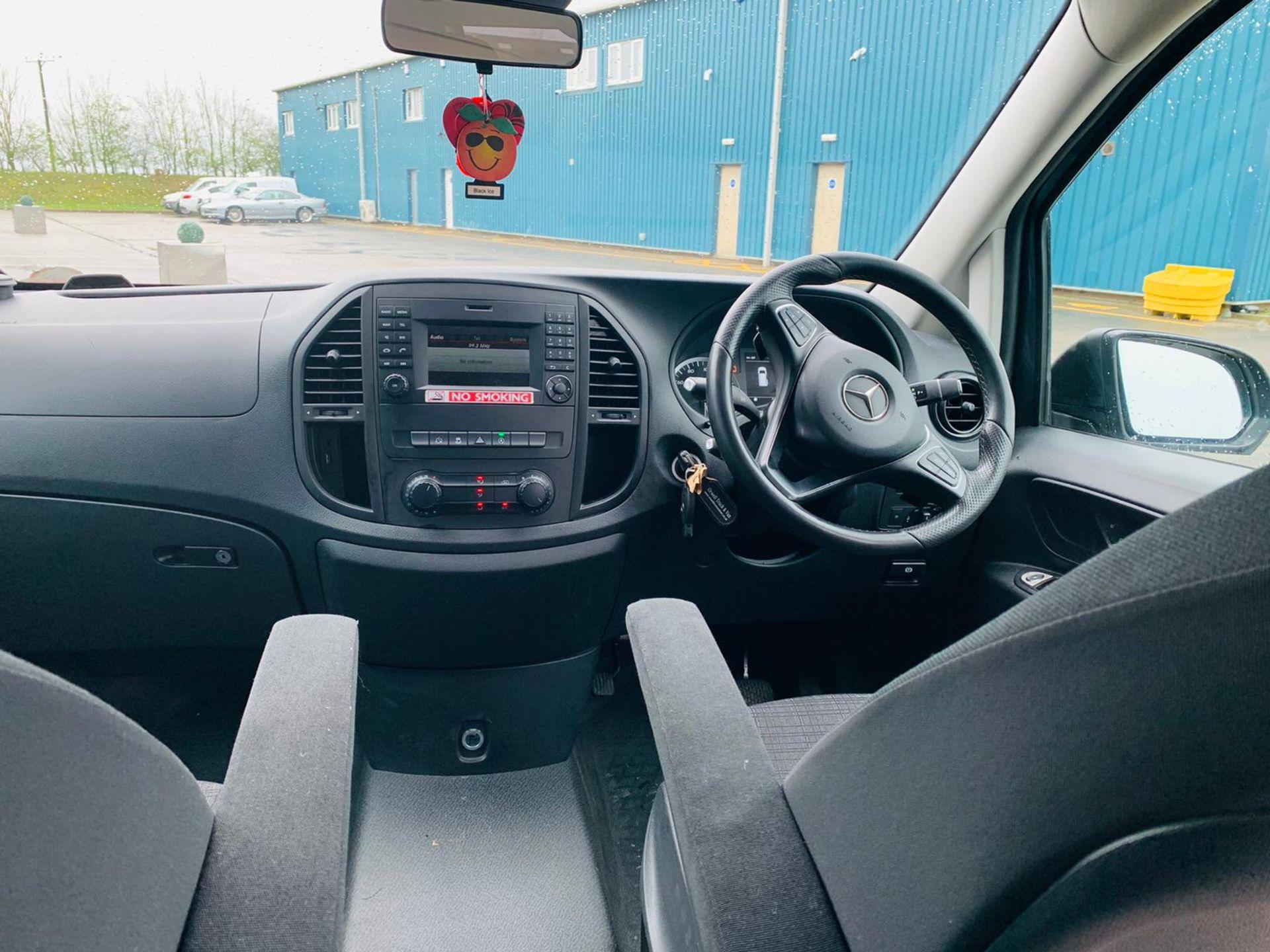 Mercedes Vito 114 Bluetec Dualiner/Crew Van - Auto - Air Con - 2018 18 Reg - 1 Owner From New - Image 17 of 25