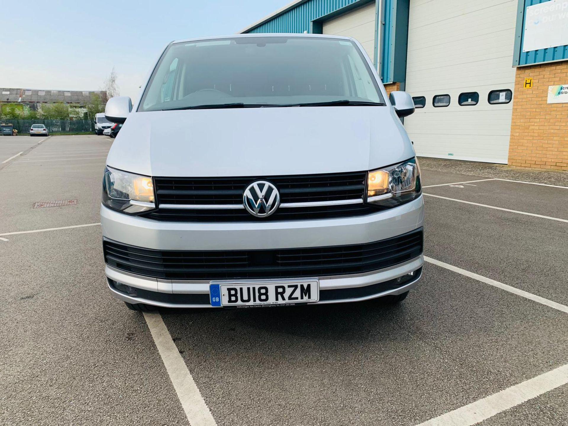 (RESERVE MET) Volkswagen (VW) Transporter 2.0 TDI 150 Highline T28 2018 18 Reg - Parking Sensors - - Image 5 of 23