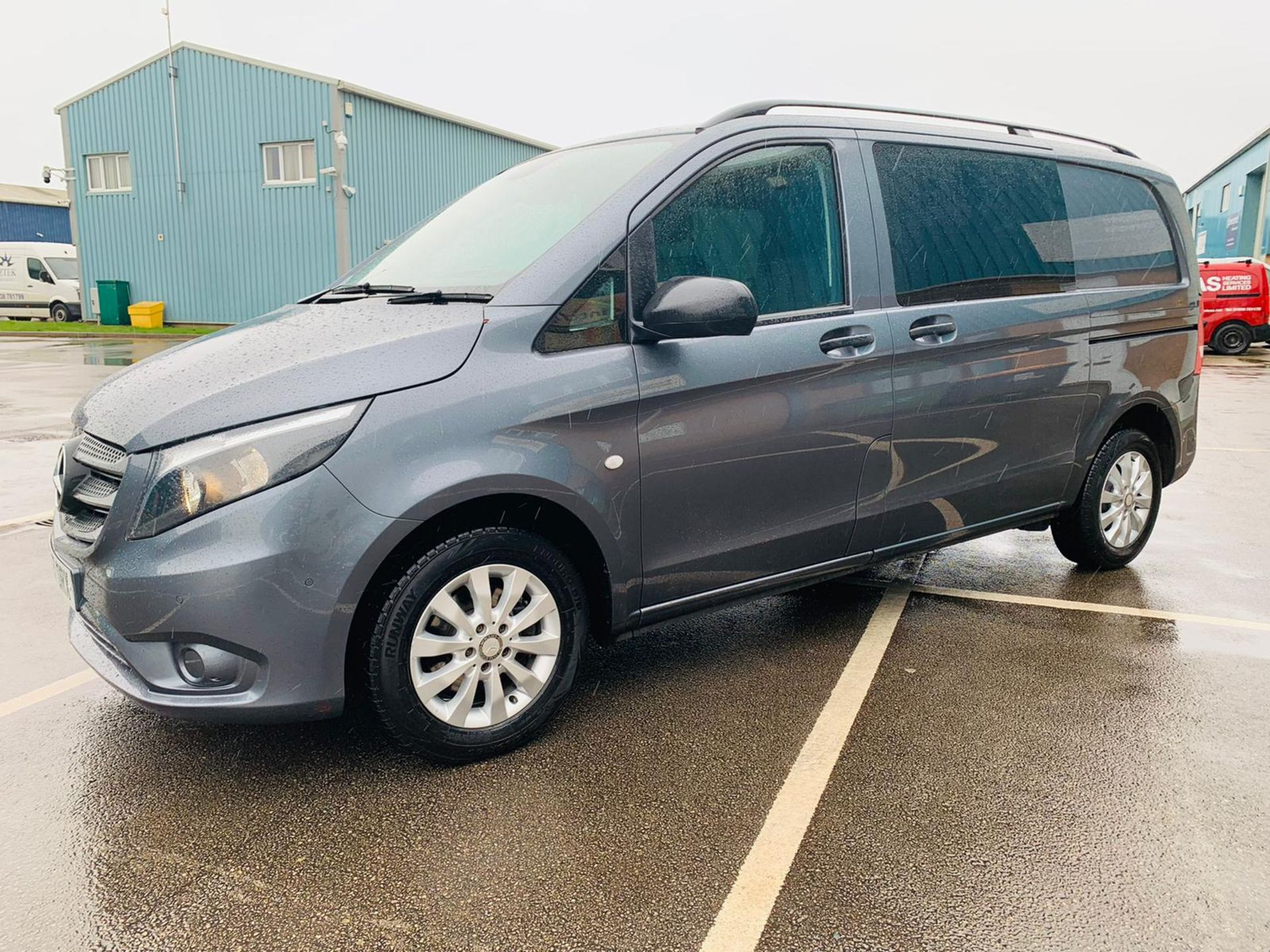 Mercedes Vito 114 Bluetec Dualiner/Crew Van - Auto - Air Con - 2018 Model- 1 Owner From New - Image 2 of 30