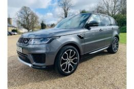 (Reserve Met) Range Rover Sport 3.0 SDV6 HSE Auto - 2019 - 1 Keeper From New - Virtual Cockpit