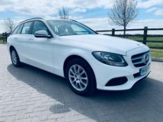 "(Reserve Met)Mercedes C200D ""Auto""Special Equipment Estate 2017 Model - Reversing Cam- White - Euro"