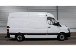 (RESERVE MET) Mercedes Sprinter 316 CDI Fridge/Freezer Van (161 BHP) - 2016 16 Reg - High Roof