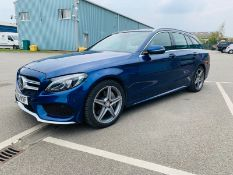 Mercedes C300 AMG Line Premium Diesel/Electric Hybrid Estate Auto - 2015 15 Reg - 1 Owner From New
