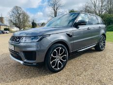 (Reserve Met) Range Rover Sport 3.0 SDV6 HSE Auto (302 BHP) (2019) 1 Keeper From New-Virtual Cockpit