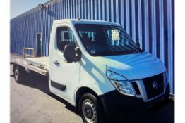 (RESERVE MET) Nissan NV400 SE 2.3 DCI Recovery Truck With Electric Winch - 2014 14 Reg