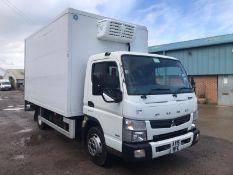 Mitsubishi (Fuso) Canter 7C15 3.0 Bluetec Fridge Box (Auto) - 2015 15 Reg - Euro 6 - 1 Owner -