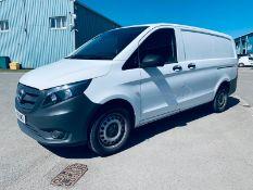 (RESERVE MET) Mercedes Vito 114CDI Bluetec 2018 18 Reg LWB - Air Con - Euro 6 - FSH - ULEZ - 1 Owner