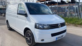 (Reserve Met) Volkswagen (VW) Transporter 2.0 TDI T28 Trendline - 2014 14 Reg