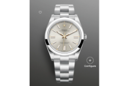 Rolex Oyster Perpetual 41 Silver Dial, Oyster Bracelet, Ref 124300, BRAND NEW, UNWORN