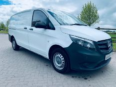 Reserve Met - Mercedes Vito CDI Lwb - 2017 Model -Euro 6 - Only 74k Miles - (New Shape) 1 Owner