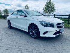 (Reserve Met) Mercedes CLA 200d Sport 2017 17 Reg - Sat Nav - White - Euro 6 - Part Leather - Cruise