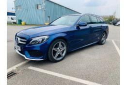 "(RESERVE MET) Mercedes C300d ""AMG Line"" Premium Diesel/ Hybrid Estate 9-G Auto - 15 Reg - 72K Miles"