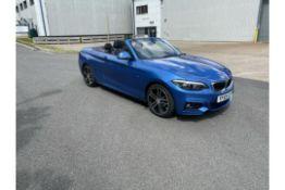(RESERVE MET) BMW 218D (2.0) M SPORT Auto Cabriolet - 2020 Model - 17k Miles - Leather - Sat Nav -