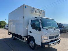 (RESERVE MET) Mitsubishi (Fuso) Canter 7C15 3.0 Fridge Box (Auto) - 2015 15 Reg - Euro 6 -