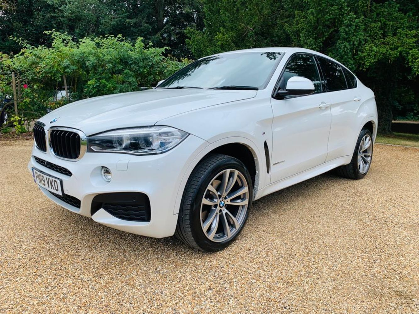 BMW X6 xDrive30d M Sport Step Auto 2019 19 Reg - Fleet Vehicle Disposal