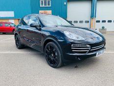 Porsche Cayenne D 3.0 V6 *Platinum Edition* PDK Tiptronic - 2014 14 Reg - Black Leather -21'' Alloys