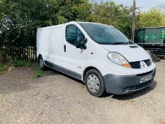 (RESERVE MET)Renault Trafic 2.5 DCI Automatic (133 BHP) - 2007 07 Reg - Ply Lining - NO VAT SAVE 20%