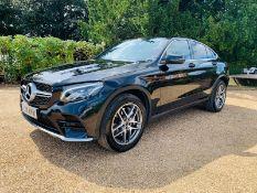 Mercedes GLC 250d Coupe 4Matic AMG Line Auto 2018 18 Reg - Reversing Cam - Sat Nav -