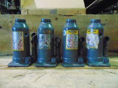 Q 4 Weber 8 Tonne Hydraulic Jacks