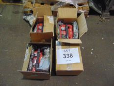 4 X UNISSUED RTS 4.2 OPTIMA RED TOP 12 V STARTING BATTERIIES - (8002-250) RTS4.2 AGM