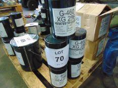 5 x Unused 3kg Drums of XG-286 Sea Water Resistant Marine Application Grease