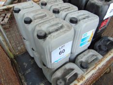 14 x Unissued 20L Drums of Atlas Copco Roto-Inject Fluid