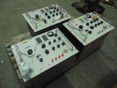 3 x Hewlett Packard S.H.F. Signal Generators