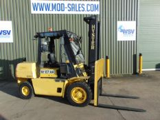 Hyster H4.00 XLS Counter Balance Diesel Forklift ONLY 5,326 HOURS!