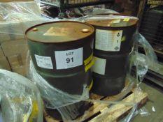 2 x Unissued 205L Barrels of AL-39 Ethylene Antifreeze