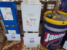 4 x Unused 5L Cans of Lotoxane XF Fast Evaporating Solvent Degreaser