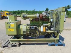 Ex Reserve Petbow BP204 255 KVA Skid Mounted Generator c/w Cummins Engine and panel ONLY 2122 HOURS!