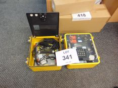 IFF Transponder Test set from RAF c/w Accessories as shown