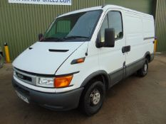 2004 Iveco Daily 35C11 2.3L Panel Van ONLY 85,917 MILES!