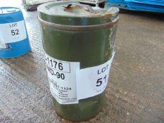 1 x Unissued 25L Drum of OMD-90 Heavy Duty Diesel Engine Oil