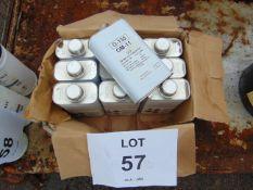 10 x Unissued 1L Tins of OM-11 Turbine Engine Oil
