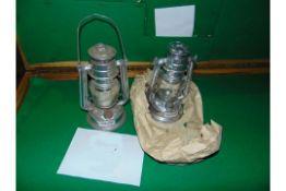 2X CHALWYN TROPICAL HURRICANE LAMPS UNISSUED