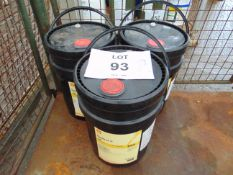 3 x Unissued 20L Sealed Drums of Shell Omala S2-G100 High Quality Industrial Gear Oil
