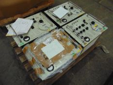 4 x Hewlett Packard S.H.F. Signal Generators with Serviceable labels