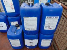 5 x Unissued 20L Drums of Dustite IBC Environmental Dust Preventative