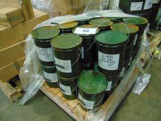 23 x Unused 12.5kg Drums of XG-286 Sea Water Resistant Marine Application Grease