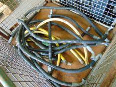 QTY of Hydraulic Hoses