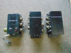 3 x Unissued Power Distribution Boxes