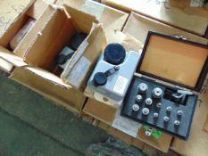 3 x Dosimeter Charger Units & Box of Modular Adaptors