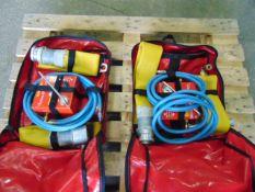 QTY 2 x Premier Lifeline Hose Inflation Systems
