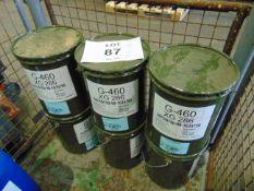 6 x Unused 12.5kg Drums of XG-286 Sea Water Resistant Marine Application Grease